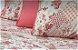 Jogo lençol patchwork salmão - Imagem 3