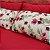 Conjunto lençol floral bordô - Imagem 3