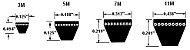 Correia Polyflex 8/7M 1750 JB Gates - Imagem 2