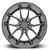 Niche Targa Anthracite 5x108 18X8 ET40 - Imagem 1