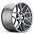 HRE FF01 Liquid Silver 5X130 19x8,5 ET50 - 19x11 ET35 - Porsche 997 Turbo, GT3 - Imagem 2