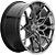 HRE FF10 Liquid Silver 5X112 19x9,5 ET45 - Audi RS3 e TTRS - Imagem 1