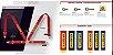 Sabelt - Cinto 4P Saloon Serie Streel Preto - FIA 8854/98 Kit Car W - Imagem 4