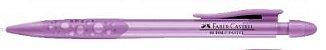 Lapiseira  0.7mm  FABER CASTELL Bubble Pastel Roxa - Imagem 1