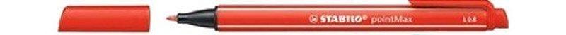Caneta Pointmax 488/48 0,8mm Vermelho - Stabilo - Imagem 1