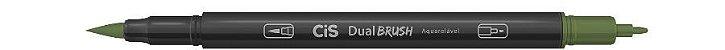 Marcador Dual Brush Aquarelavel 34 Verde Aspar-cis - Imagem 1