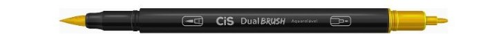 Marcador Dual Brush Aquarelavel 29 Amarelo Our-cis - Imagem 1
