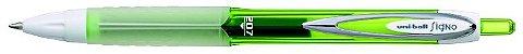 Caneta Retratil 0,7mm Signo 207 Verde - Uni - Imagem 2