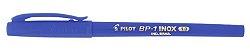 Caneta Esferografica 1,0mm Inox Azul - Pilot - Imagem 2