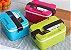 Marmita Marmitex Lunch Box 3 Cores Disponíveis Duplo Fecho - Imagem 2