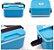 Marmita Marmitex Lunch Box 3 Cores Disponíveis Duplo Fecho - Imagem 7