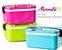 Marmita Marmitex Lunch Box 3 Cores Disponíveis Duplo Fecho - Imagem 1