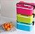 Marmita Marmitex Lunch Box 3 Cores Disponíveis Duplo Fecho - Imagem 3