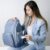 Mochila Maternidade Azul Jeans - Imagem 4