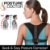 Cinta Postural Corretor Postura Magnético Colete Ajustável Corpo Ombro Homens e Mulheres - Imagem 3