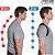 Cinta Postural Corretor Postura Magnético Colete Ajustável Corpo Ombro Homens e Mulheres - Imagem 4