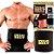 Cinta Faixa Modeladora Redução Sweat Belt Compressão Fitness Termica Perde Barriga Peso Masculina Feminina - Imagem 4