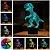 Luminária de Mesa de LED 3D Criativa Dinossauro / Luz Noturna Decorativa - Imagem 1