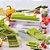 Fatiador Legumes Cortador Verduras Espiral Ralador Picador Multiuso Nicer - Imagem 4