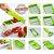 Fatiador Legumes Cortador Verduras Espiral Ralador Picador Multiuso Nicer - Imagem 2