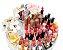 Organizador Cosméticos Porta Maquiagem Pincel Esmalte Giratório 360º Graus Painel - Imagem 4