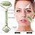 Massageador Facial de Duas Pontas Com Pedras de Jade Naturais Massageador de Rolo Varinha de Massagem Facial - Imagem 4