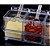 Porta Temperos E Condimentos Acrilico 4 Potes Organizadores Cozinha - Imagem 4