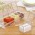 Porta Temperos E Condimentos Acrilico 4 Potes Organizadores Cozinha - Imagem 2
