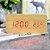 Relógio Despertador Mesa Digital Madeira Data Temperatura - Imagem 3