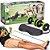 Kit Musculação Fitness Completo Academia Em Casa Revoflex Elastico Roda Abdominal Extensor Para Braço - Imagem 1