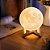 Luminária Lua Cheia 3d Abajur Touch 15cm Cores Touch - Imagem 1