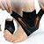 Proteção De Tornozelo Com Tensão Esportes Passeio Compressão Antitorção c/ Suporte de Calcanhar - Imagem 1