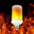 Kit 4 Lampada Led Efeito Fogo Tocha Chama Flame Bivolt - Imagem 3