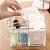 Porta Algodão E Cotonete Organizador Em Acrílico Para Banheiro - Imagem 4