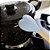 Kit 4 Espátulas Colher Coração De Silicone Mexer Cozinha Cabo Madeira - Imagem 3