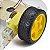 Carrinho Arduino / Carro Robô 2WD 200RPM Acrílico 3mm - Kit Chassi - Imagem 2