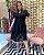 Vestido em Renda Martina Black - Imagem 1