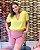 Blusa Jacquard Clarissa Amarela - Imagem 1