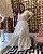 Vestido Longo Manú Goiaba Off White - Imagem 1