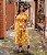 Macacão Plus Size Eva Mostarda - Imagem 3