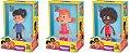 3 Palavrinhas - Kit 3 Bonecos Miguel, Sarah e Davi Originais - Imagem 5