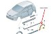 Extensor Da Caixa Da Roda Traseiro Esquerdo Preto Satin Fox - Imagem 1