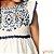 Vestido Off White Evasê com Renda Carinhoso - BLK1 - Imagem 4