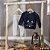 Conjunto de blusão de plush e calça de moletom pelúcia Luc.boo - Imagem 2