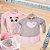 Vestido em plush com pelo Le Petit Kukiê Baby - Imagem 2