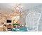 PENDENTE Klaxon Iluminação LADDER Geométrico Tubular Moderno (preço por módulo) 110 cm x até 4 metros x 70 cm - Imagem 4