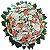 Coroa de Flores Luxo - Antúrios, Rosas Brancas e Lírios  - Imagem 1