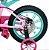 Bicicleta Aro 14 First Pró Freio a Disco Rosa e Verde - Imagem 8