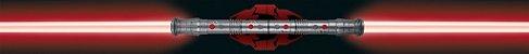 Luminária Uncle Milton Star Wars Sabre De Luz Darth Maul - Imagem 2