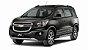 Chevrolet SPIN 2016 até 2018 - Tampa Retrátil do porta-malas (Preta) - Imagem 6